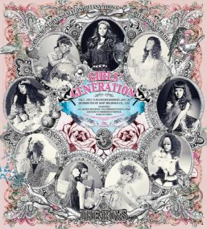 "Album art for Girls' Generation's album ""The Boys"""