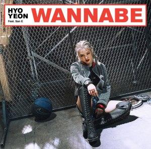 "Album art for Hyoyeon's album ""Wannabe"""