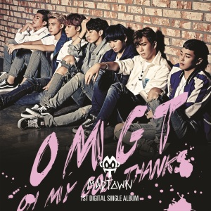 "Album art for MADTOWN's album ""OMGT (Oh My God Thanks)"""