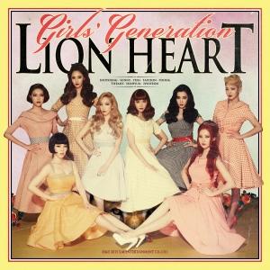 """Album art for Girls' Generation's album """"Lion Heart"""""""