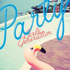 "Album art for Girls' Generation (SNSD)'s album ""Party"""