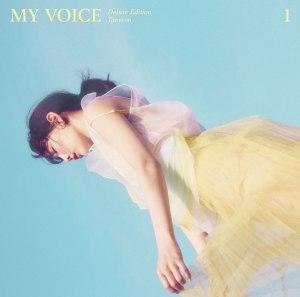 """Album art for Taeyeon's album """"My Voice (Deluxe Ed)"""""""