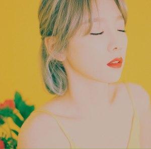 """Album art for Taeyeon (Girls' Generation /SNSD)'s album """"My Voice"""""""