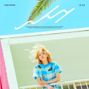 "Album art for Taeyeon's album ""Why"""
