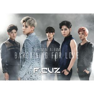 "Album art for F.Cuz's album ""Bargaining For Love"""