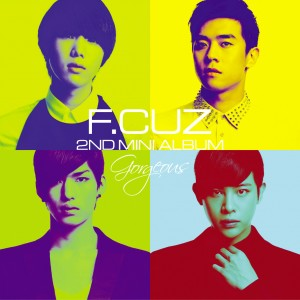 "Album art for F.Cuz's album ""Gorgeous"""