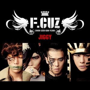 "Album art for F.Cuz's album ""Jiggy"""