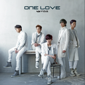 "Album art for F.Cuz's album ""One Love"""