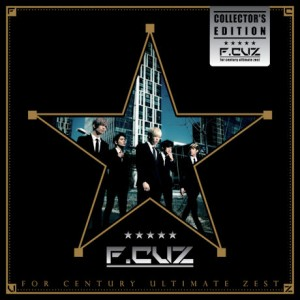 "Album art for F.Cuz's album ""For Century Ultimate Zest"""