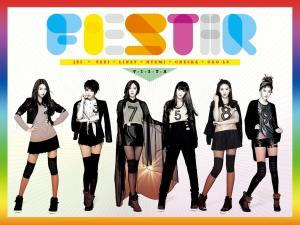 "Album art for Fiestar's album ""Vista"""