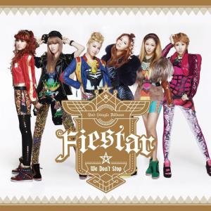 "Album art for Fiestar's album ""We Don't Stop"""