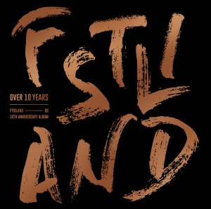 "Album art for FTISLAND's album ""Over 10 Years"""
