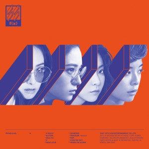 "Album art for F(x)'s album ""4 Walls"""