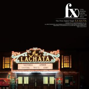 "Album art for F(x)'s album ""LaChaTa"""