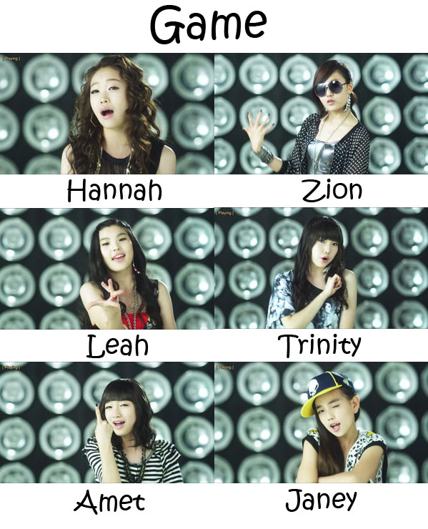 "The members of GP Basic in the ""Game"" MV"