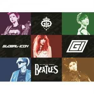 "Albm art forr GI (Global Icon)'s album ""Beatles"""