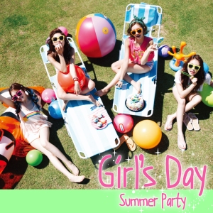 "Album art for Girl's Day's album ""Summer Party / Everyday 4"""