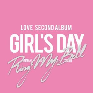 """Album art for Girl's Day's album """"Ring My Bell"""""""