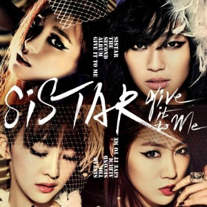 "Album art for SISTAR's album ""Give It To Me"""