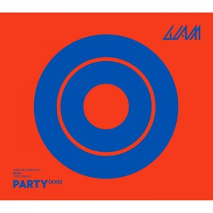 "Album art for GLAM's album ""Party (XXO)"""
