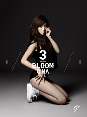 "Album art for G.NA's album ""Bloom"""