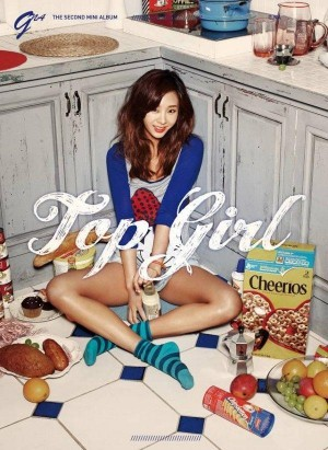 "Album art for G.NA's album ""Top Girl"""