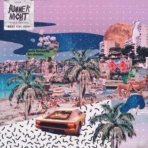 """Album art for Gray's album """"Summer Night (Remix)"""""""