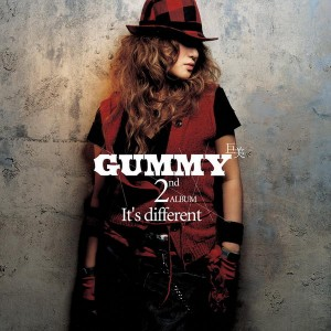 "Album art for Gummy's album ""It's Different"""
