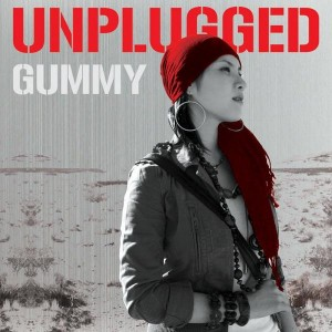 "Album art for Gummy's album ""Unplugged"""