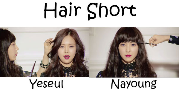 "The members of Wings in the ""Hair short"" MV"