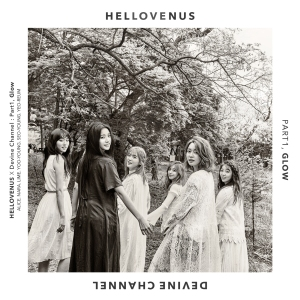 "Album art for Hello Venus's album ""Glow"""