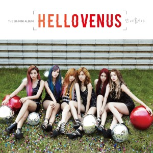 "Album art for Hello Venus's album ""I'm Ill"""