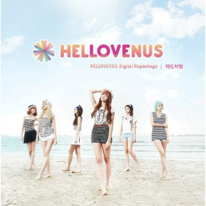 "Album art for Hello Venus's album ""Like A Wave"""