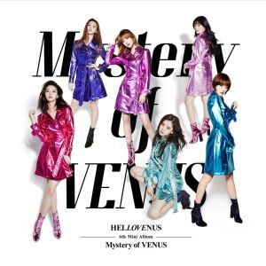 "Album art for Hello Venus's album ""Mystery of VENUS"""