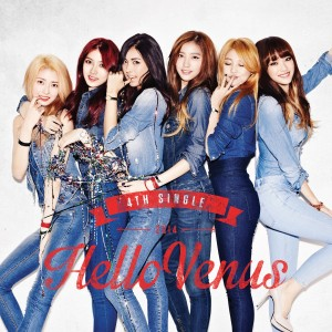 "Album art for Hello Venus's album ""Sticky Sticky"""