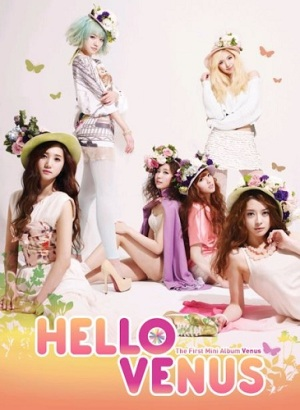 "Album art for Hello Venus's album ""Venus"""
