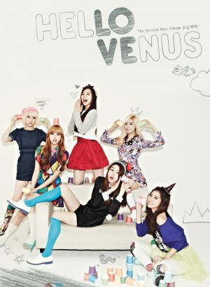 "Album art for Hello Venus's albm ""What Are You Doing Today"""