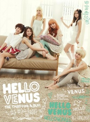 "Album art for Hello Venus's album ""Would You Stay For Tea?"""