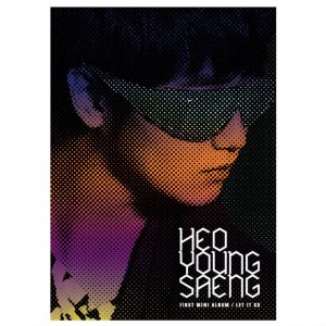 "Album art for Heo Young Saeng's album ""Let It Go"""
