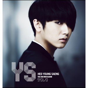 "Album art for Heo Young Saeng's album ""Solo"""