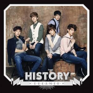 """Album art for History's album """"Dreamer"""""""