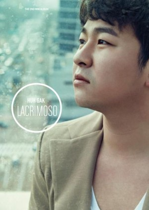 "Album art for Huh Gak's album ""Lacrimoso"""