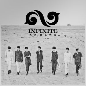 "Album art for Infinite's album ""Be Back"""