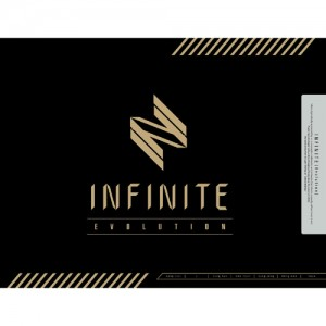 "Album art for Infinite's album ""Evolution"""