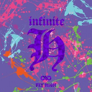 "Album art for Infinite - H's album ""Fly High"""