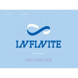 "Album art for Infinite's album ""New Challange"""