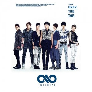 "Album art for Infinite's album ""Over The Top"""