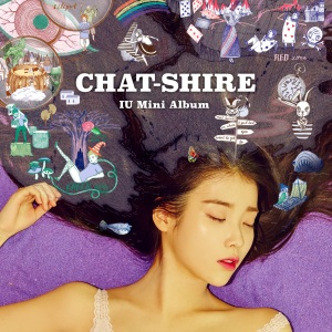 "Album art for IU's album ""Chat-Shire"""