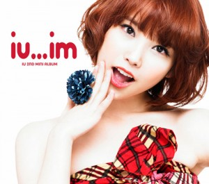 "Album art for IU's album ""IU...IM"""