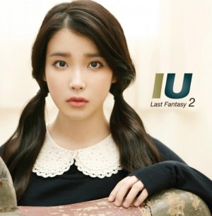 "Album art for IU's album ""Last Fantasy"""